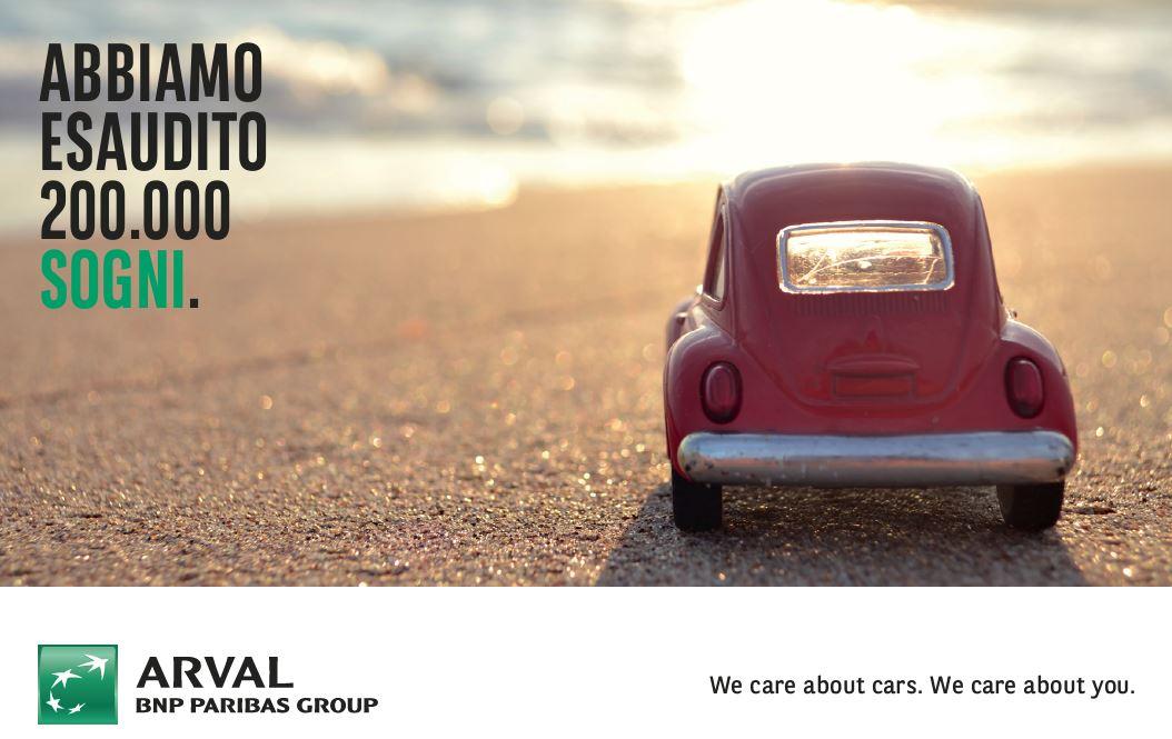 Arval Italia raggiunge i 200.000 veicoli noleggiati