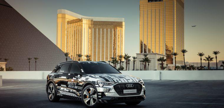 Audi e-tron al CES di Las Vegas 2019: tecnologia realtà aumentata