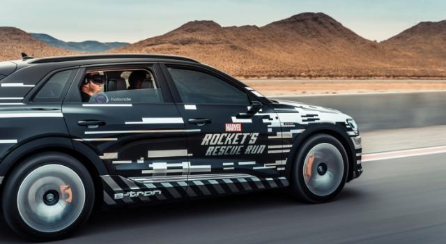Audi e-tron al Ces di Las Vegas 2019 insieme a holoride: intrattenimento a realtà virtuale