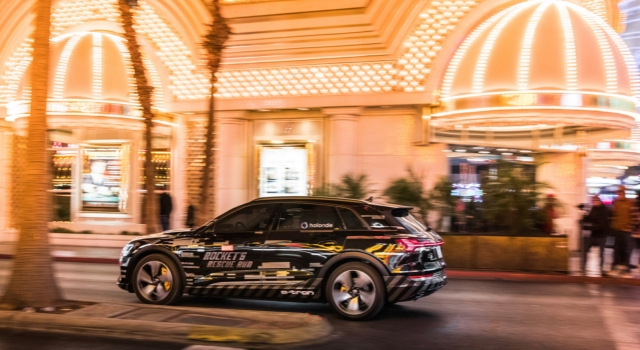 Audi e-tron al ces di Las vegas 2019 holoride lanciano il nuovo format di intrattenimento a realtà virtuale