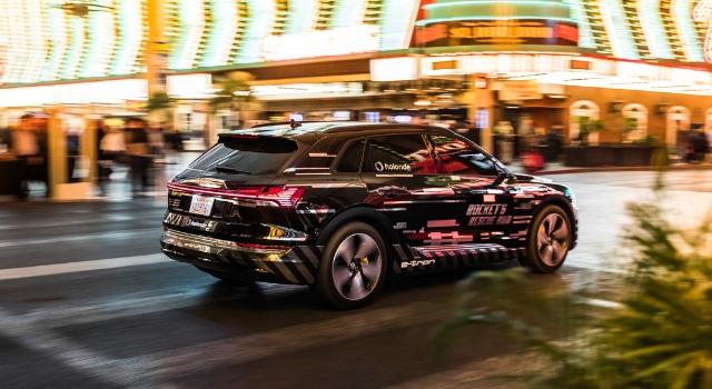 Audi e-tron al Ces di las Vegas 2019, insieme a holoride, propone il nuovo format di intrattenimento a realtà aumentata