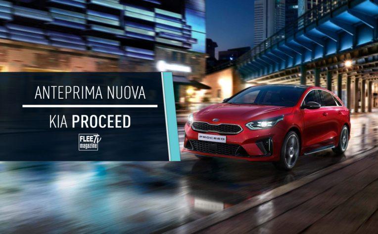 Nuova Kia Proceed 2019