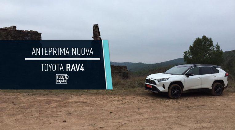 anteprima nuovo Toyota RAV4