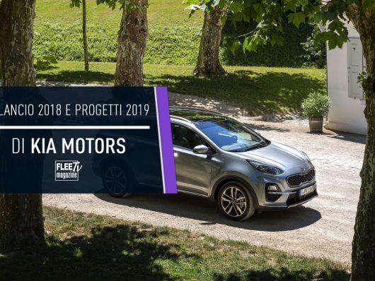 Bilancio 2018 e progetti 2019 di Kia