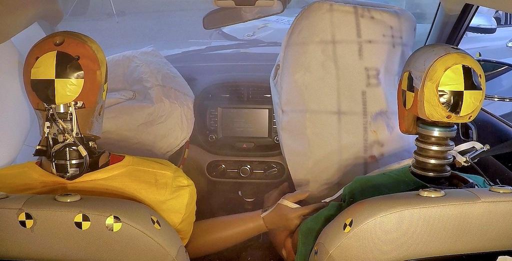 esplosione airbag