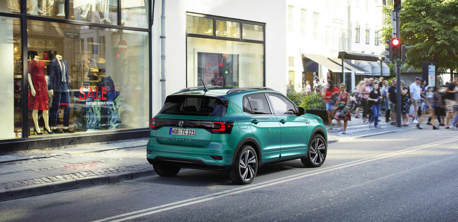 famiglia nuova Volkswagen T-Cross 2019