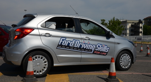 Ford Driving Skill for Life, il training di guida sicura con Ford Sleep Suit