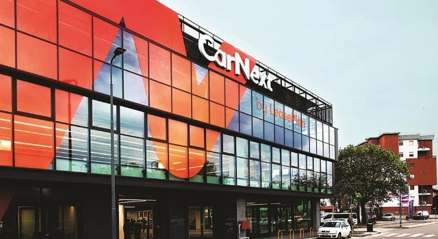 Inaugurazione del primo CarNext Delivery Store a Milano, gennaio 2019