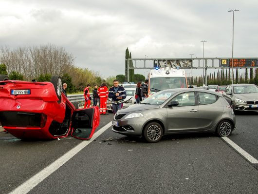 Incidente stradale in caso di guida sotto l'effetto di stupefacenti