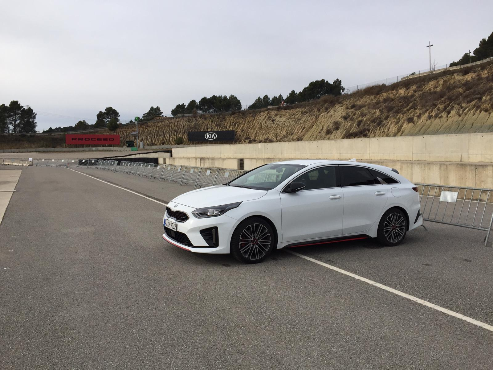 test drive Kia Proceed