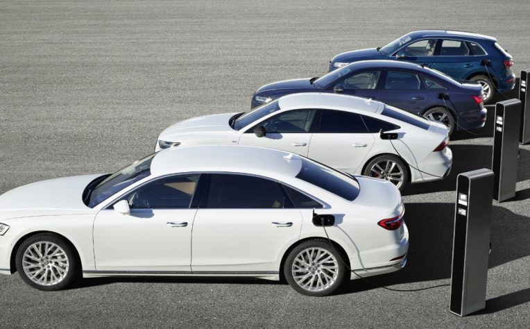 Nuovi modelli ibridi plug-in Audi al Salone di Ginevra 2019