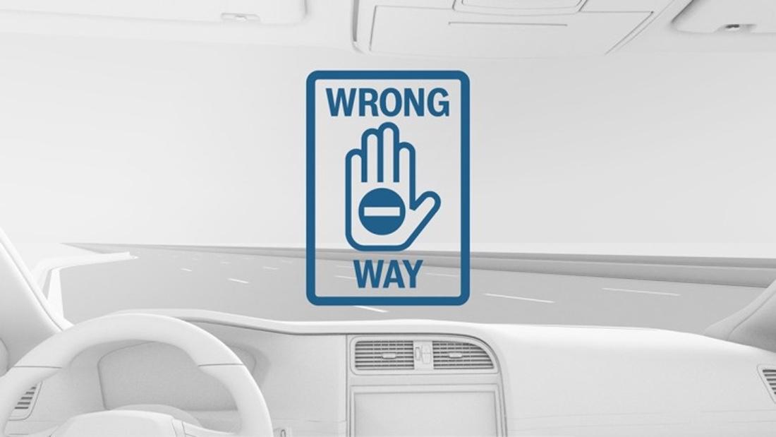 Bosch Wrong Way Driver Warning