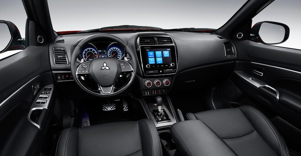 Interni di Mitsubishi ASX 2020