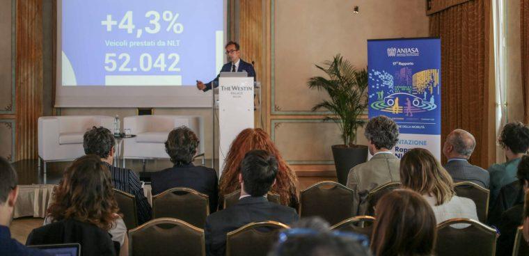 In occasione del 18° Rapporto Aniasa verranno presentati i dati del noleggio e del car sharng in Italia
