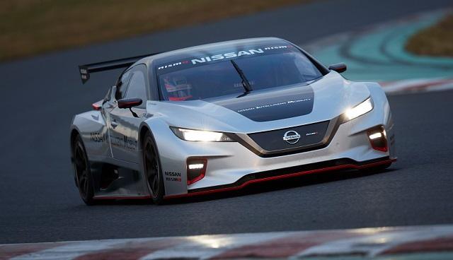 Nissan Leaf da corsa