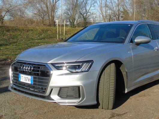 Nuova Audi A6 Avant test drive