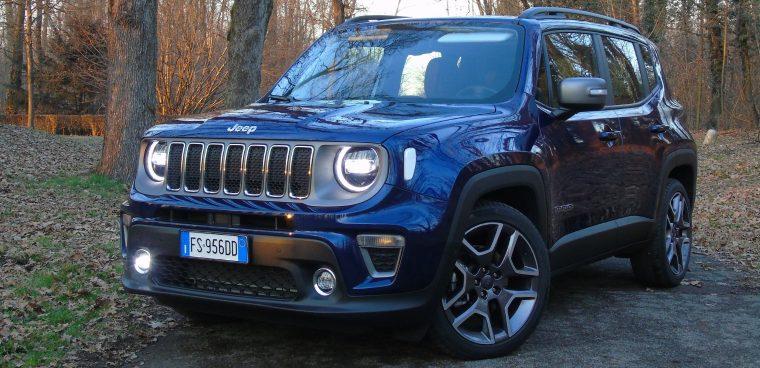 Nuova Jeep Renegade 2019 prova su strada