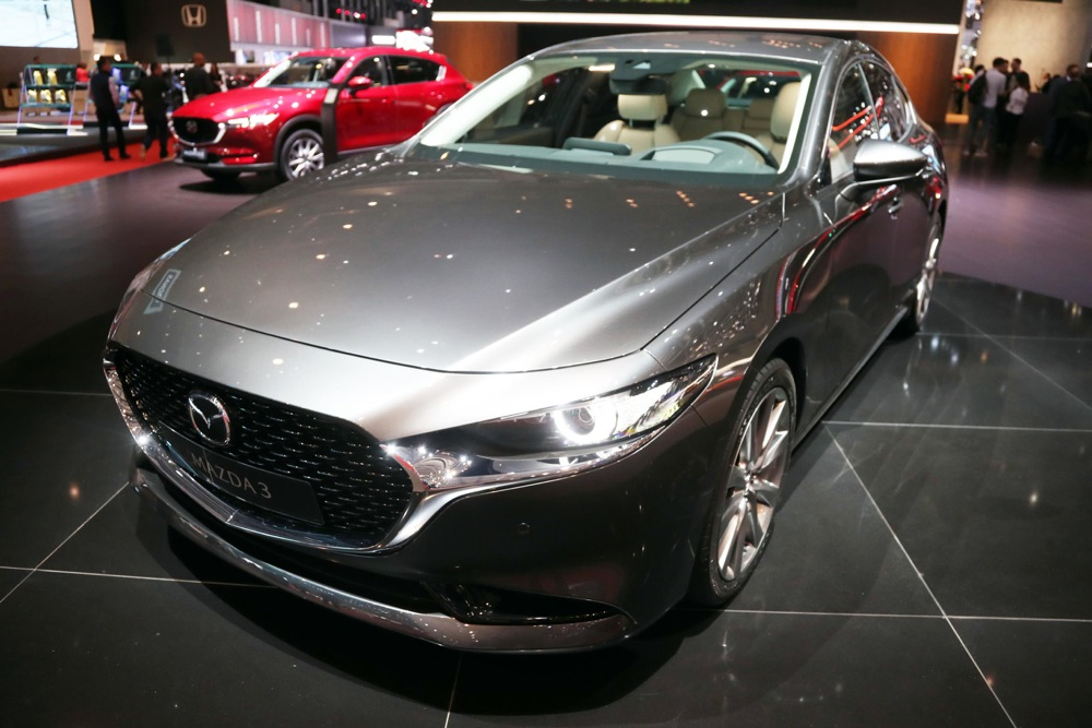 Nuova Mazda 3 al Salone di Ginevra 2019