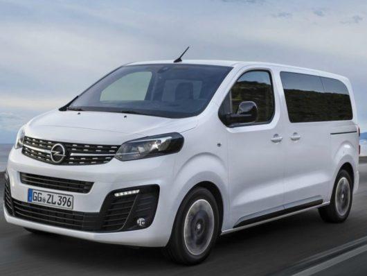 Nuova Opel Zafira Life Transpotec Logitec
