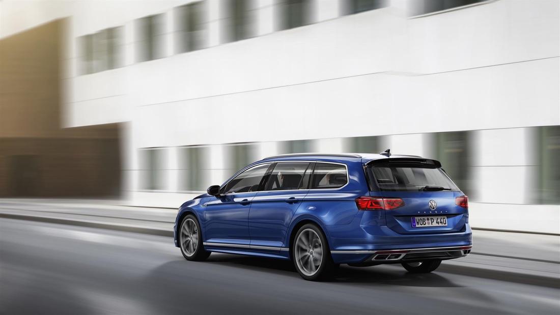 Volkswagen Passat restyling 2019 station wagon