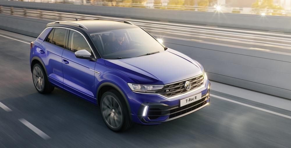 Volkswagen T-Roc R milano design week 2019