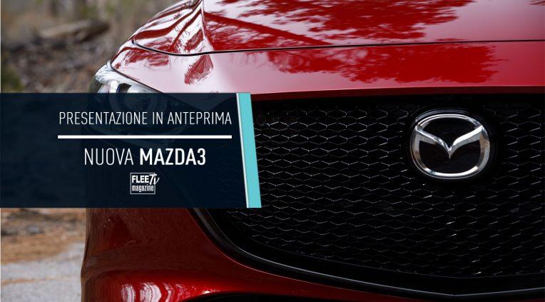 anteprima nuova Mazda3 2019