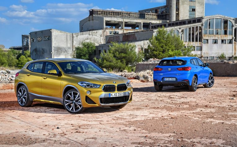 noleggiare nuova BMW X2