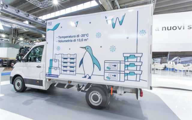 nuovo Volkswagen e-Crafter Lamberet