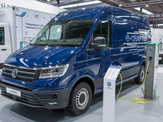 nuovo Volkswagen e-Crafter Transpotec Logitec 2019