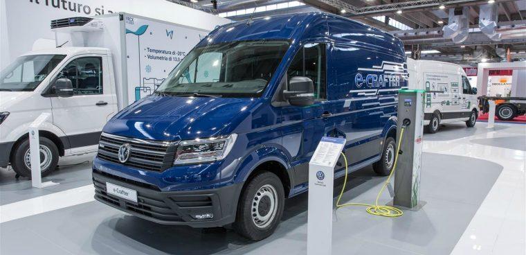 nuovo Volkswagen e-Crafter Transpotec Logitec 2019