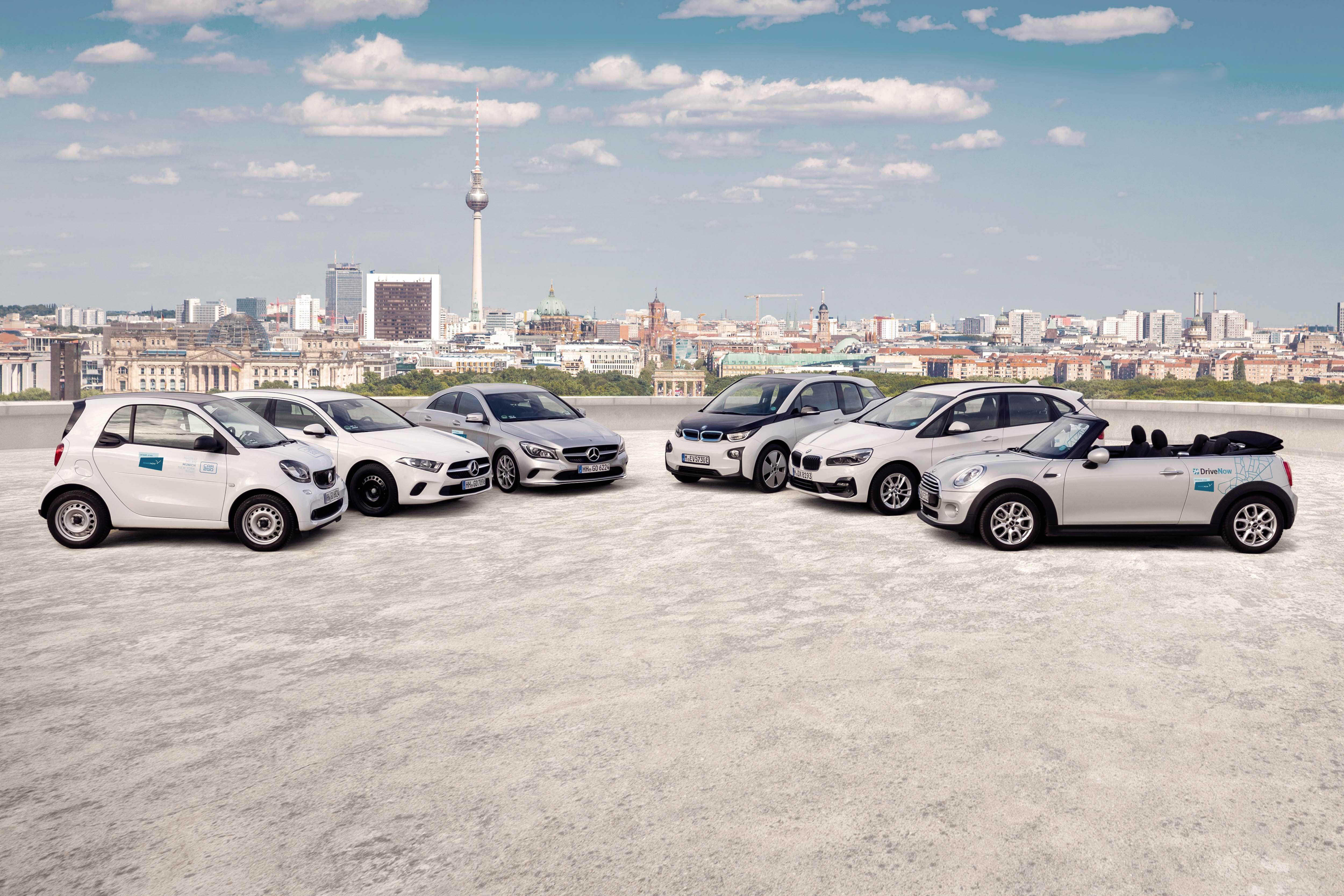 Share Now: la joint venture tra car2go e DriveNow, ecco la nuova flotta