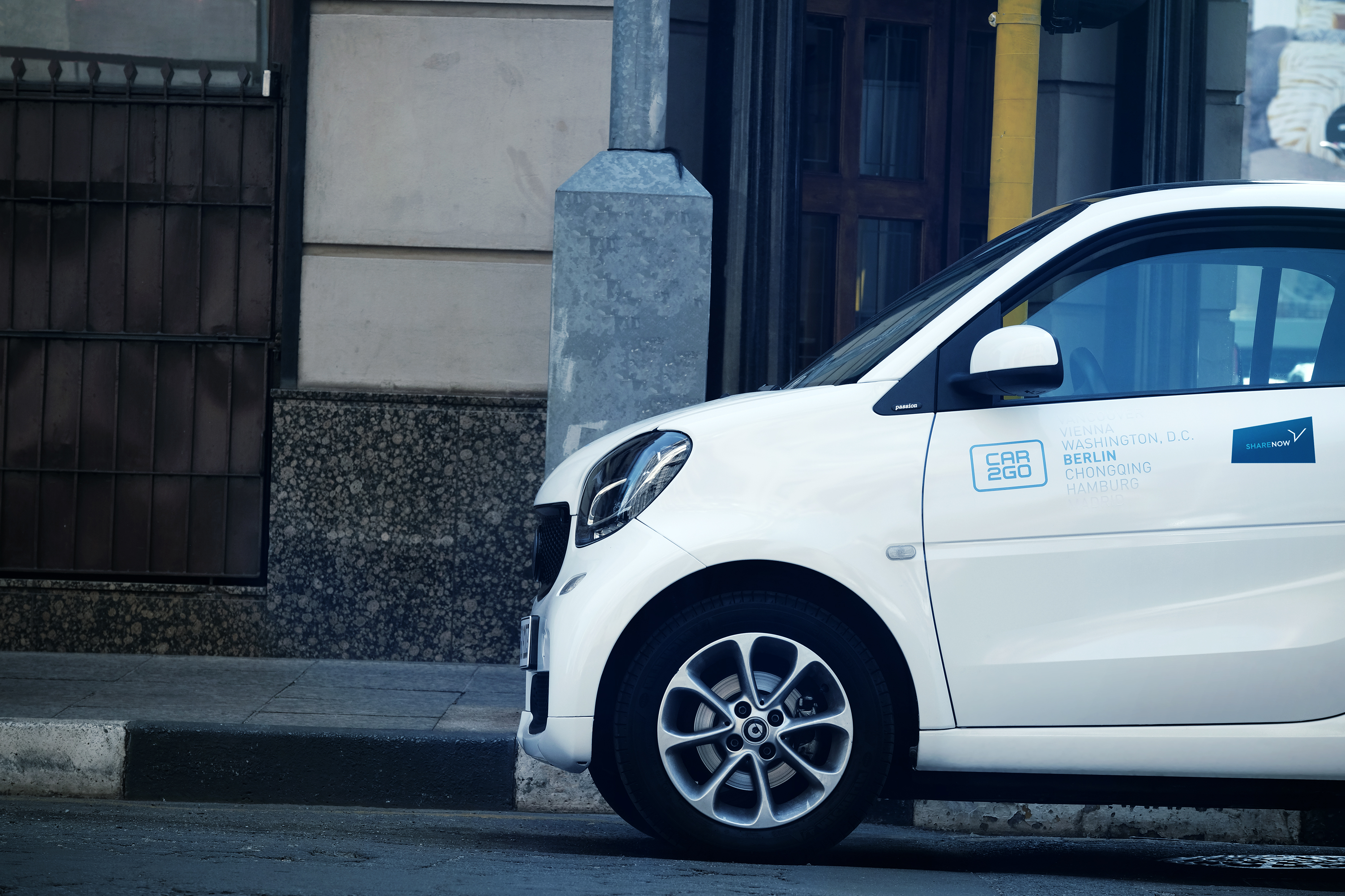 Share Now: la joint venture tra car2go e DriveNow
