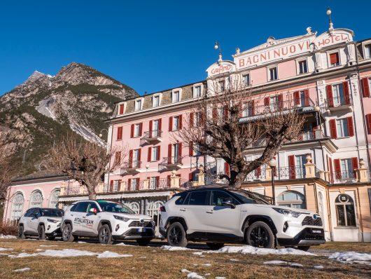 Toyota Hybrid Vertical Winter Tour 2019: il test drive di Rav4