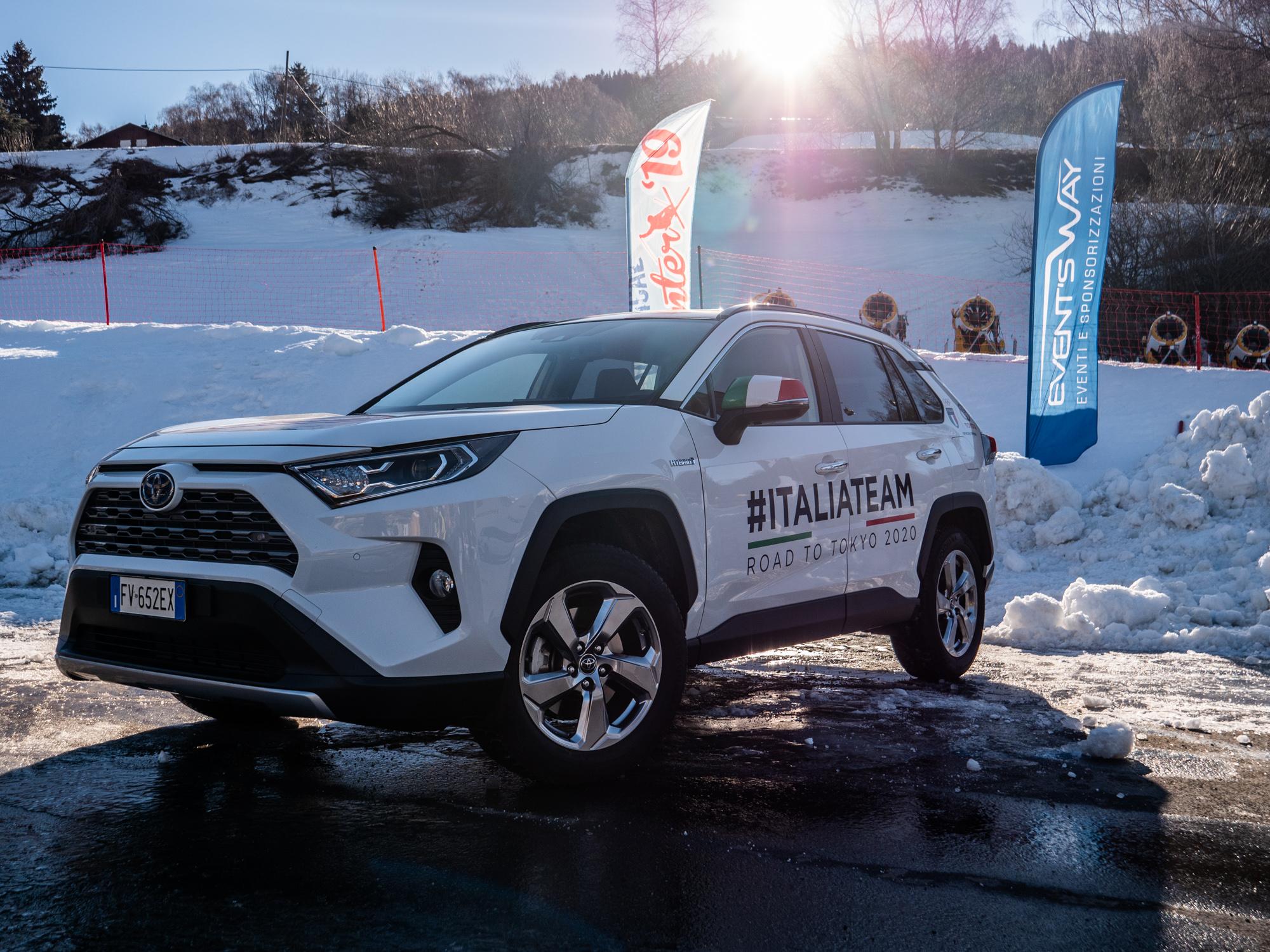 Toyota Hybrid Vertical Winter Tour 2019: l'ultima tappa a Bormio con il test drive di Rav4