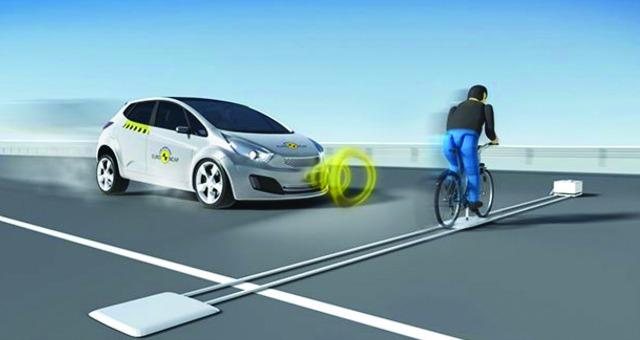 Adas protezione ciclisti