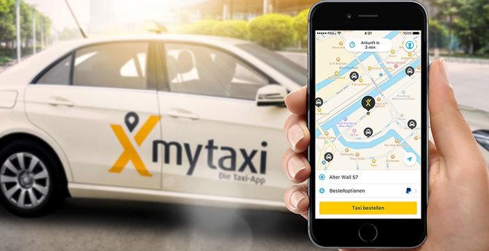 taxi dallo smartphone