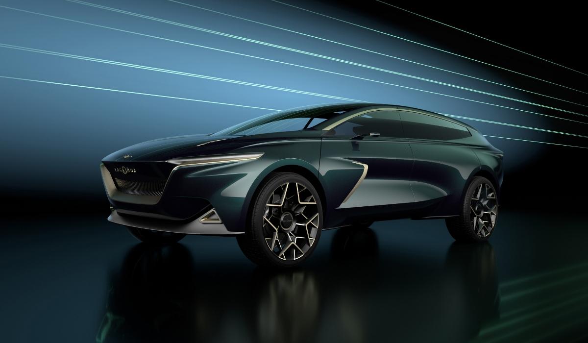 Aston Martin Lagonda All-Terrain Concept al Salone di Ginevra 2019