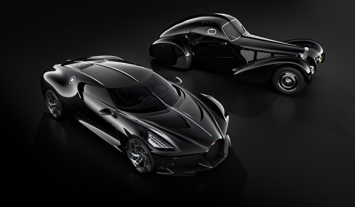 Bugatti La Voiture Noire è l'auto più costosa al mondo