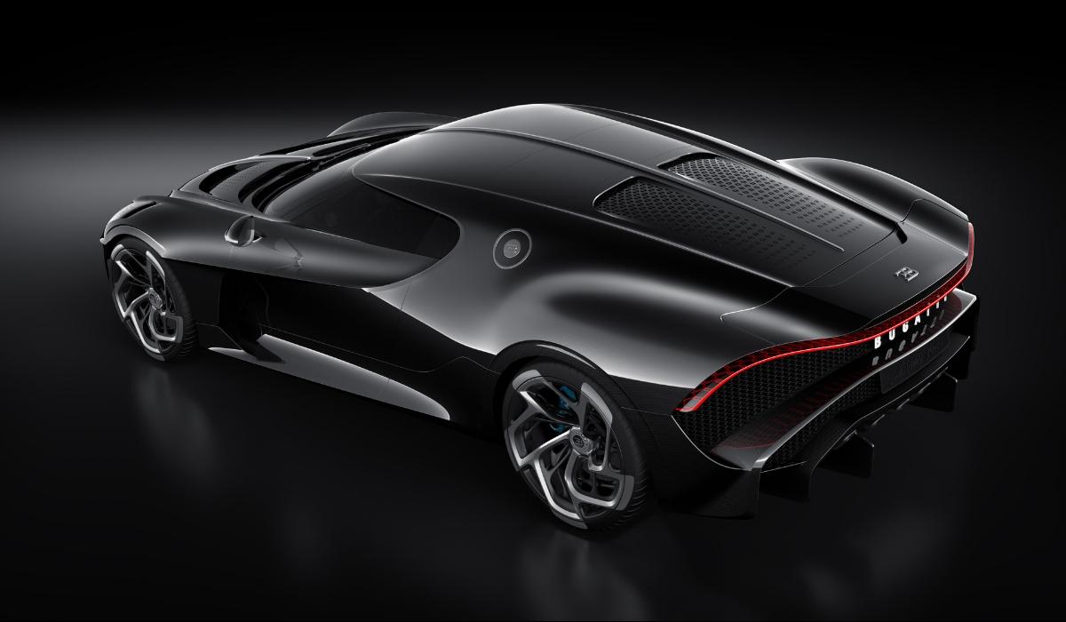 Bugatti La Voiture Noire al Salone di Ginevra 2019
