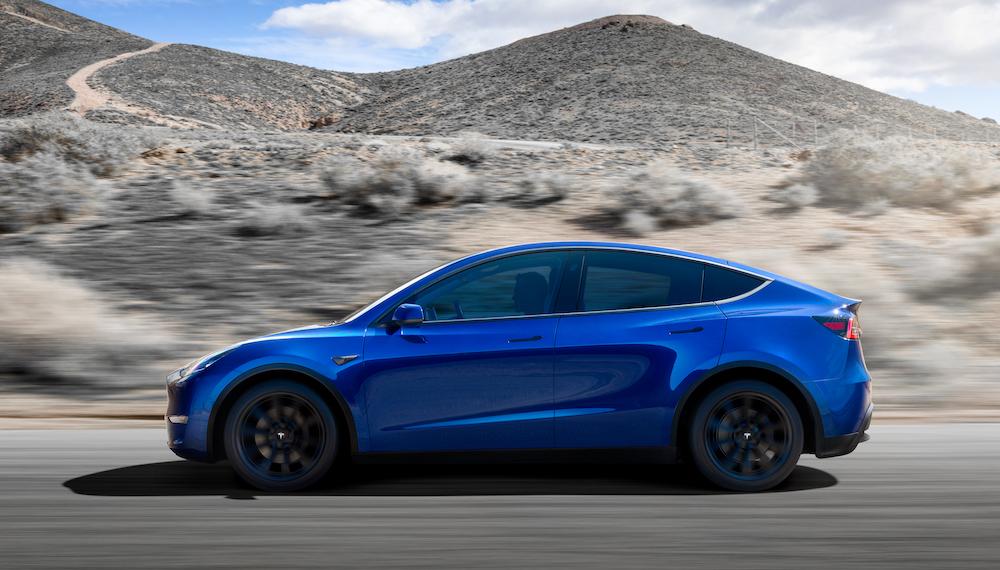 Dimensioni di Tesla Model Y