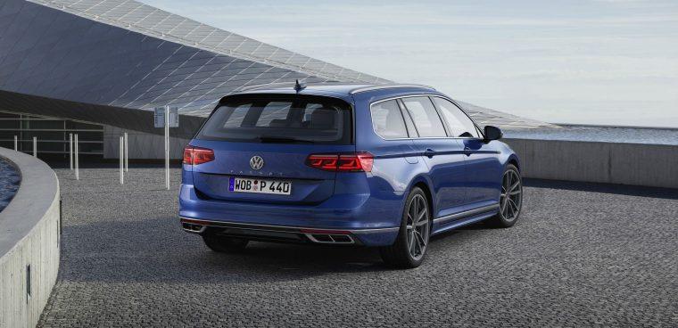 Esterni nuova Volkswagen Passat