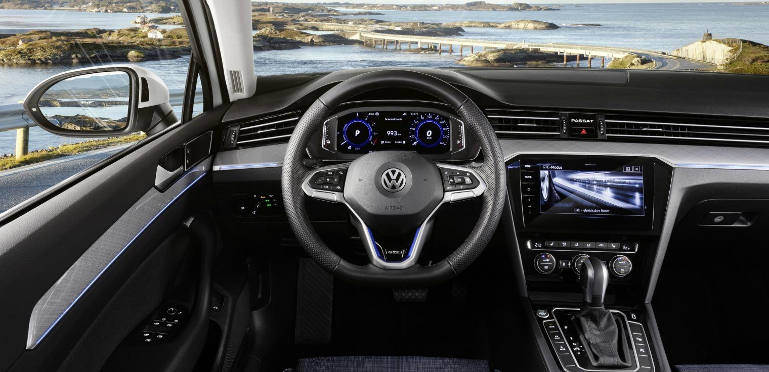 Interni nuova Volkswagen Passat 2019