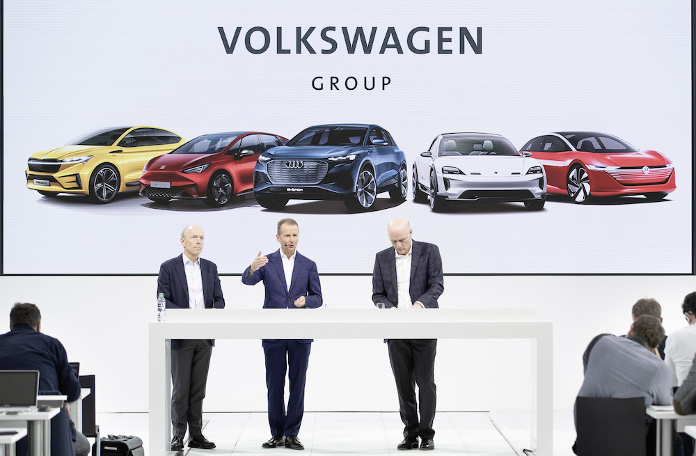 Investimenti Volkswagen su elettrico