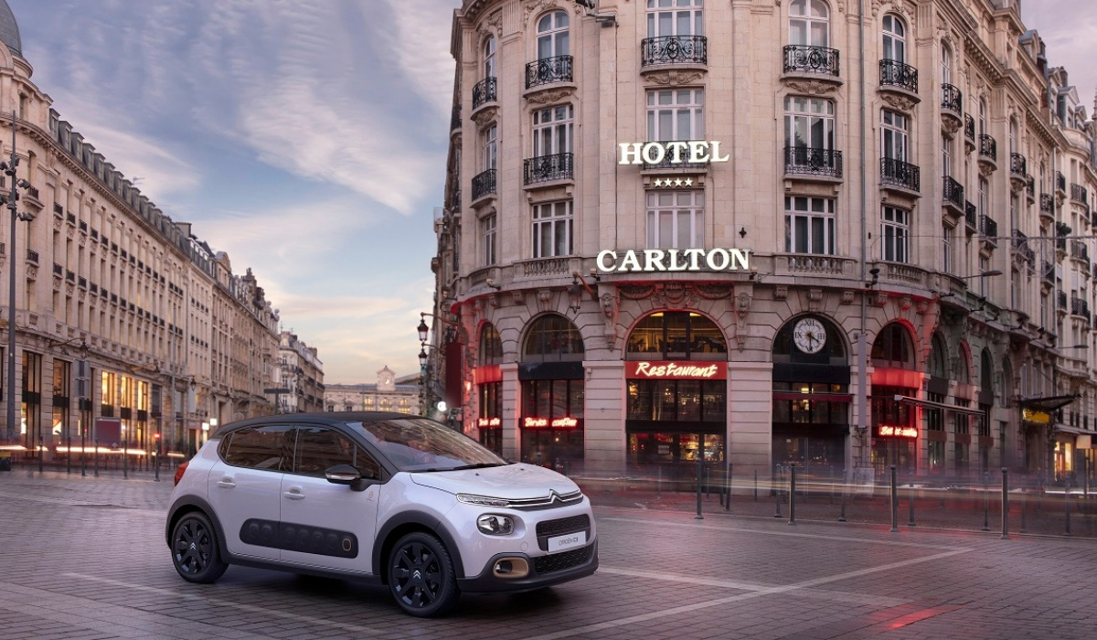 Nuova Citroen C3 Origins 2019 su strada