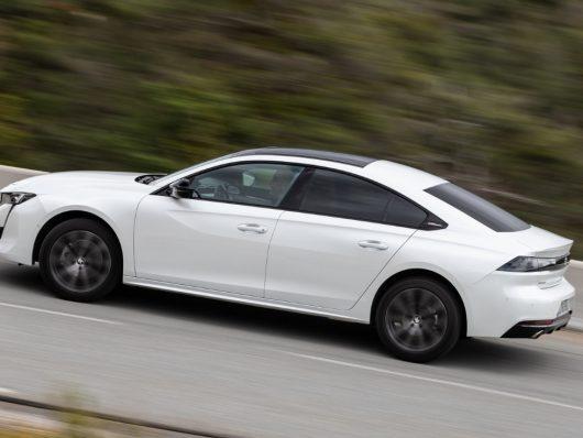 Nuova Peugeot 508 2019 bianca