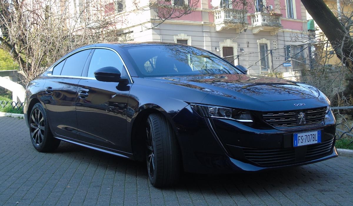 Nuova Peugeot 508 2019 prova