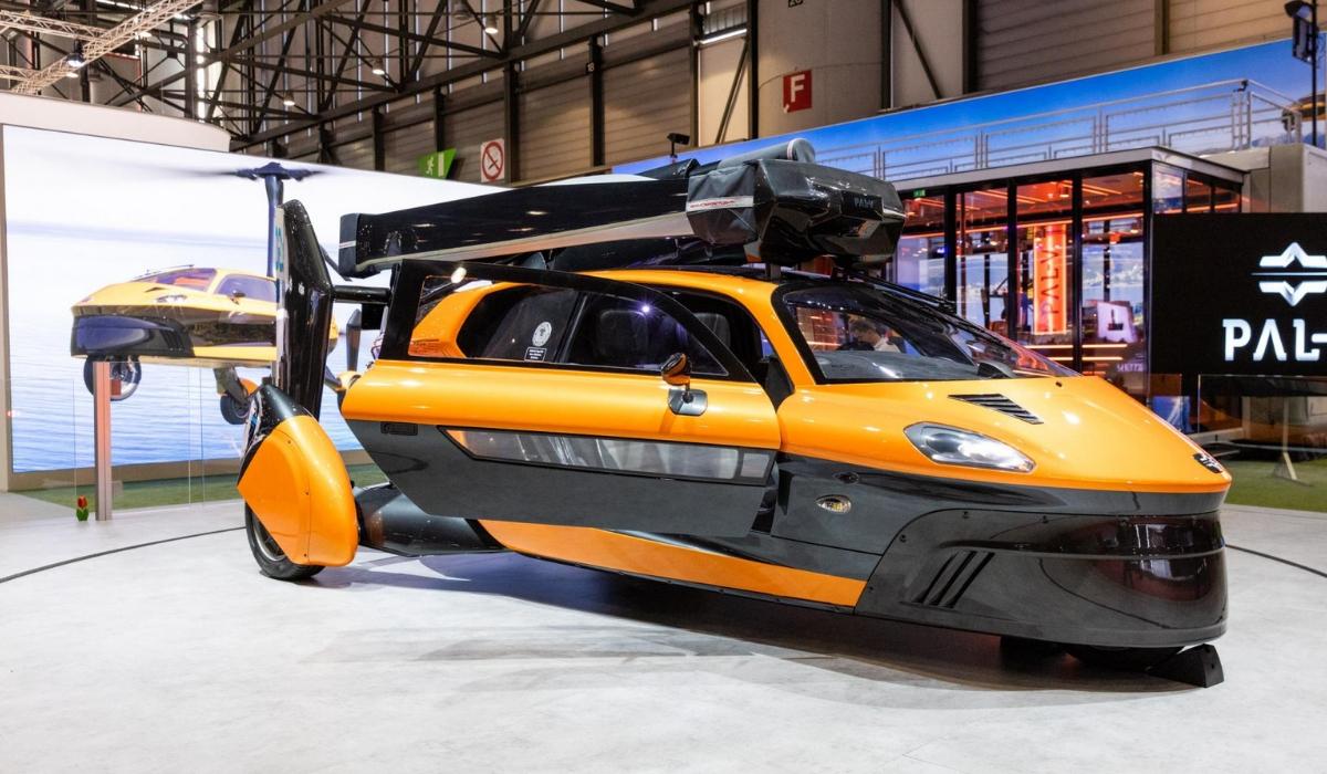 Pal-V Liberty Pioneer Edition auto volante al Salone di Ginevra 2019