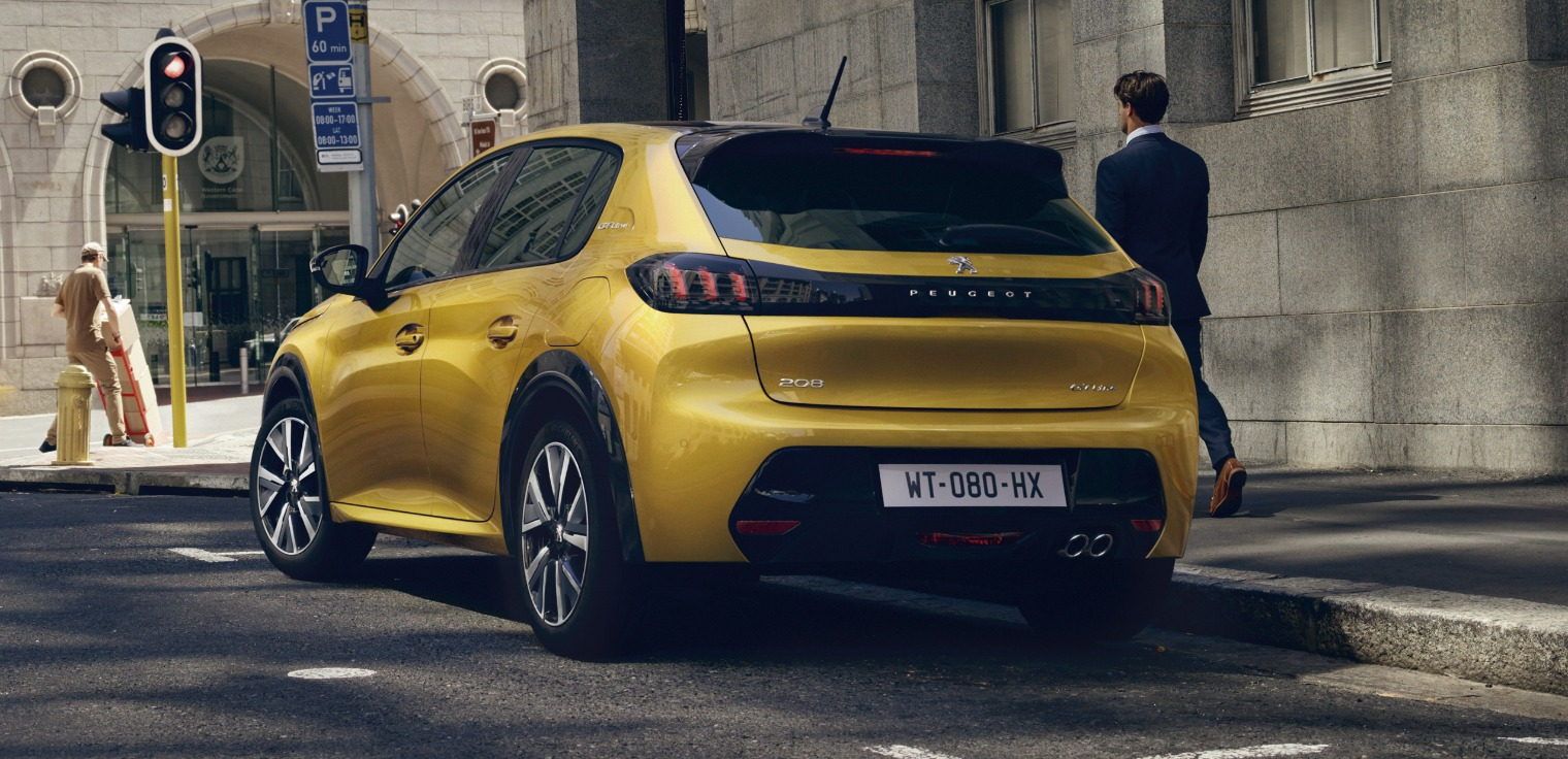 Posteriore nuova Peugeot 208