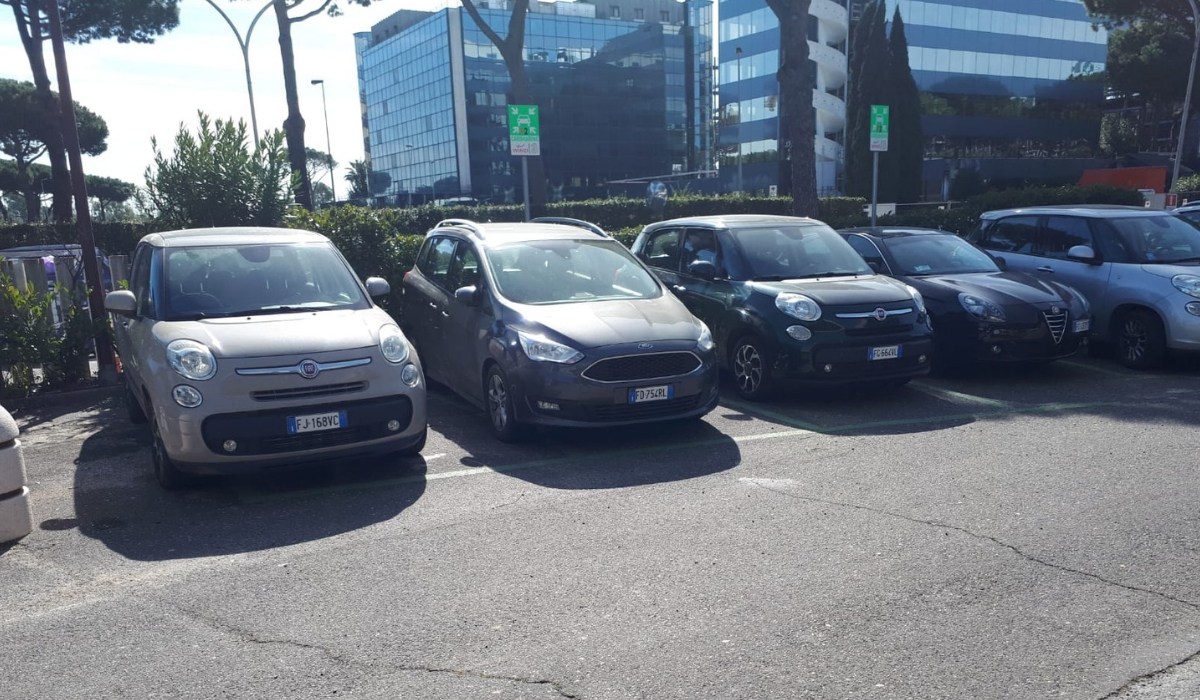 Il servizio di corporate car sharing di Wind Tre