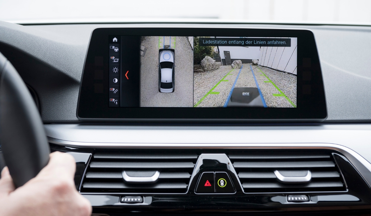 Telecamere a 360° BMW